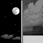 Tonight: A 20 percent chance of showers after 4am.  Partly cloudy, with a low around 49. South southeast wind 8 to 10 mph.