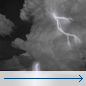 Wednesday Night: Slight Chance Showers And Thunderstorms