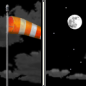Sunday Night: Partly cloudy, with a low around 30. Windy.
