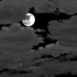 Night time, Dry, Partly cloudy